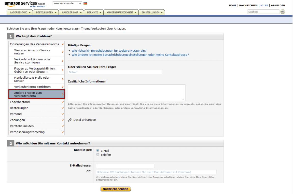 Amazon Pay Konto